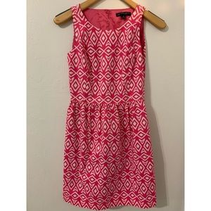 Brooks brothers pink & white dress size 4 p in EUC